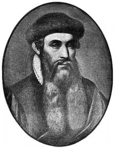 Image of Johannes Gutenburg