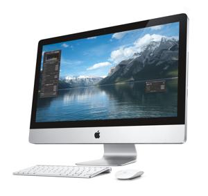 Image of an iMac27 photo