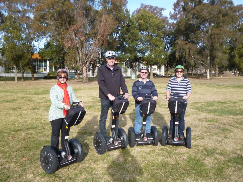 Segway personal transport and tourism