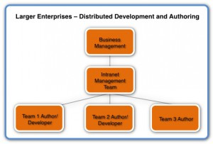 Image of Intranet Organisation Larger Enterprises