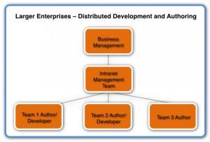 Image of Intranet Organisation Larger Enterprises