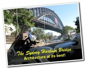 The Sydney Harbour Bridge