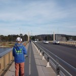 Image of Segway across Commonwealth Avenue Bridge, Canberra