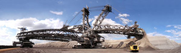 Image of Bagger-garzweiler mining equipment - By User:Martinroell [CC BY-SA 2.5 (http://creativecommons.org/licenses/by-sa/2.5)], via Wikimedia Commons